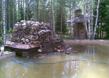 Водоподготовка.Монтаж бассейнов и декоративных водоемов.