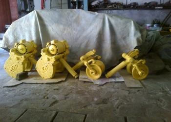 Редуктора,колёса,шестерни для кран-балок и тельферов