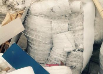 Завод обработки отходов выкупает полимерные материалы для переработки.