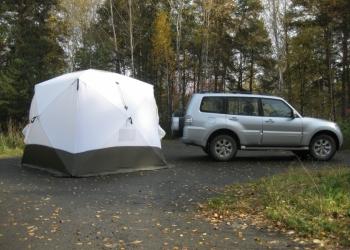 Палатка Куб 2,5х2,5х2,3, 6-ти местная Уралзонт