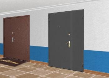 Тамбурные двери оптом в Краснодаре от ТК Парус