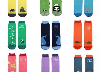 Дизайнерские носочки Big Bang Socks