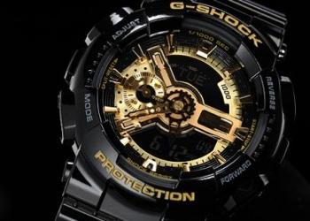 Часы G-shock 110RG.
