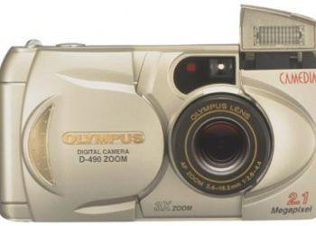 Цифровой фотоаппарат olympus d-490 zoom