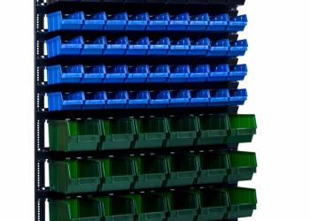 Складские пластиковые ящики и стеллажи