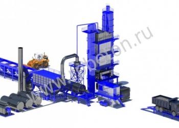 Асфальтный завод LBG600
