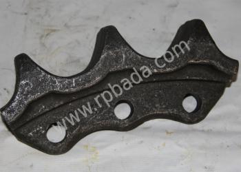 Сегмент 3 зубый бульдозера Shantui SD (18 шт. к. - те) 16Y-18-00014