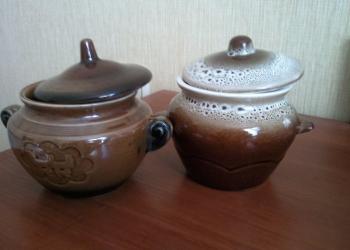 Горшочки для запекания в духовке керамические с крышками
