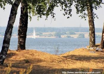 Участок ИЖС по Дмитровскому шоссе в 10 км от МКАД на Клязьминском водохранилище