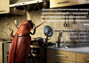 Уничтожение насекомых, грызунов