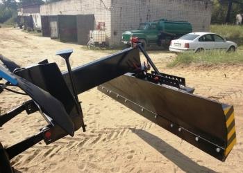 Грейдерный планировочный отвал для МТЗ-82 (задняя навеска)