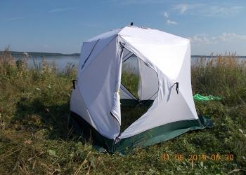 Палатка Куб 1,85х1,85х1,85, 2-х местная, 3-х слойная Уралзонт