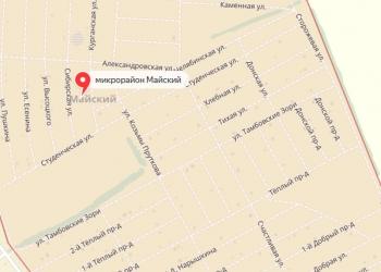 Продам земельный участок в поселке Майском, проезд Теплый/Донской