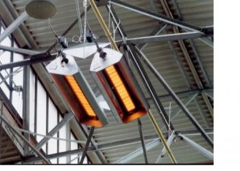Светлые газовые излучатели