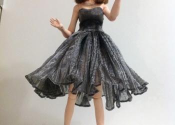 Айрис шарнирная авторская кукла, полимерная глина