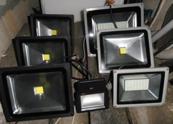 Ремонт светодиодных прожекторов,светильников.