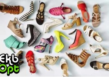 Летний ассортимент женской обуви по низким ценам.