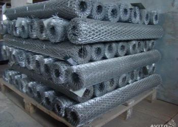 Цельно-металлическая просечно-вытежная сетка(цпвс) НУ и Оцинкованные .
