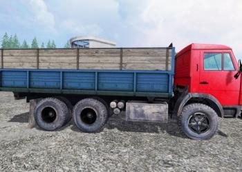 Аренда  Камаз 55102 г/п 10 тонн, бортового атомобиля