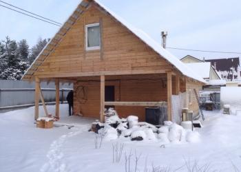Строим дома и бани из профилированного бруса