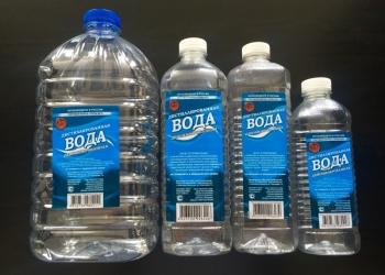 Вода дистиллированная 1 л.,1,5 л., 2 л., 5 л., 10 л., 19 л.
