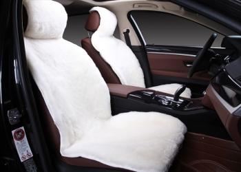 Меховые накидки на сиденья авто