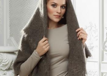 Настоящие оренбургские платки