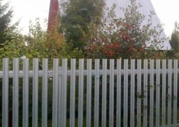 Забор, ворота, калитка.