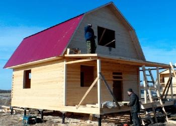 Построим дачный домик на садовом участке в Пензе