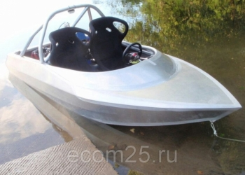 Скоростной алюминиевый катер Джет бот. Изготовление