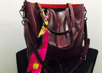Абсолютно новая женская сумка натуральная кожа