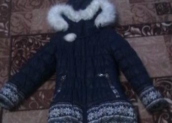 Детский комбинизон,зимняя куртка на девочку 4-5лет бурки зимние р