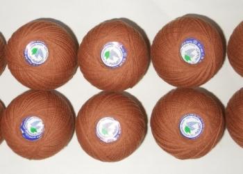 """Нитки """"Сирень"""" ( хлопок 100%) для вязания, вышивания"""