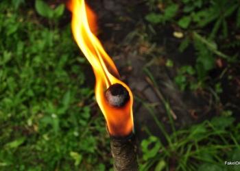 Факел восковой