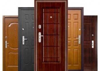 Установка отделка входных дверей
