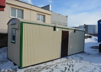 Вагон-дом на раме ТОРОС  Душевая с комнатой отдыха