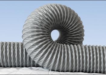Гибкий воздуховод абразивостойкий, термостойкий, химстойкий (аспирация)