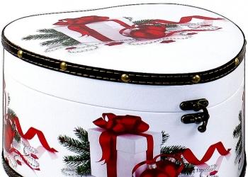 Упаковка для новогодних подарков Глав-Упак.ру