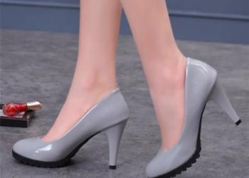 Не скользкие туфли.
