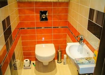 Ремонт ванной под ключ, кладка кафеля