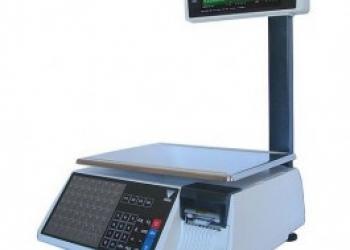 весы с печатью