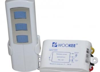 Дистанционный 1-канальный светорегулятор WK-1047E