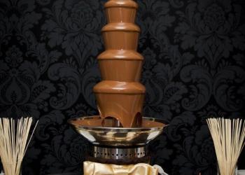 Шоколадные фонтаны в аренду для торжеств и мероприятий