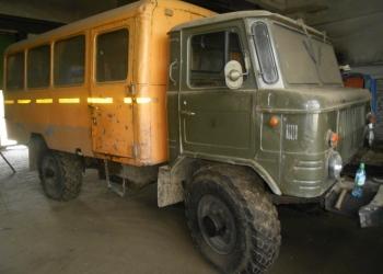 Грузовой вахтовый фургон ГАЗ 66-11/НЗАС-3964