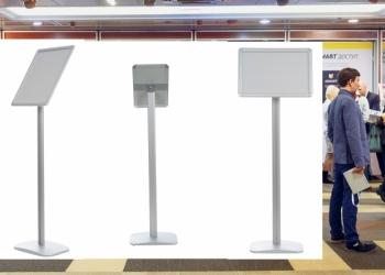 Напольные рекламные стойки с доставкой в Ростовскую область. Выгодные цены!