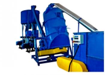 Линия для  производства экструдированных комбикормов из зерна и соломы (сена) 50