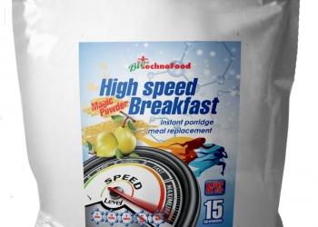 HIGH SPEED BREAKFAST, полноценный многозлаковый завтрак, 750 гр., 18 порций