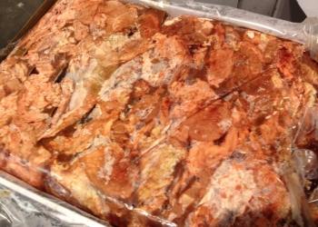 Мясо голов говяжьих замороженное