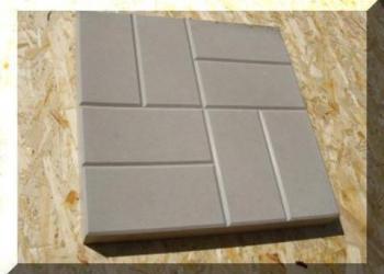 Плитка полимерпесчаная 33х33х30 автомобильная