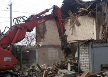 Слом, демонтаж любых строений